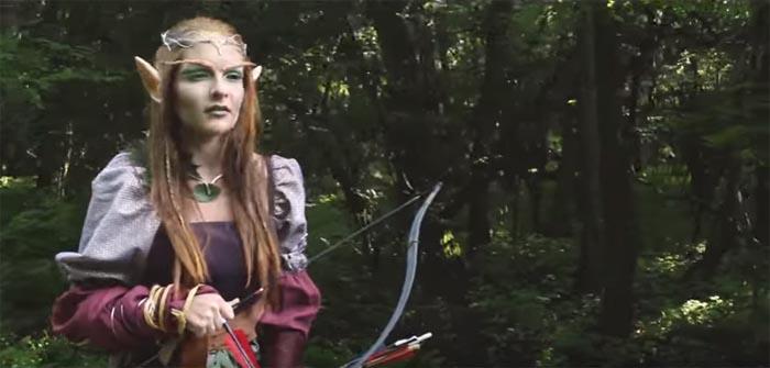 Prințesa elfilor din Carei, hotărâtă să câștige concursul L'OREAL (Video)