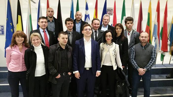 Ciprian Crăciun, coordonator județean al PES activists Satu Mare