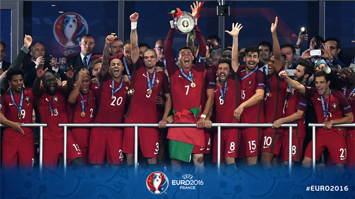 Fotbal: Portugalia, noua campioană europeană