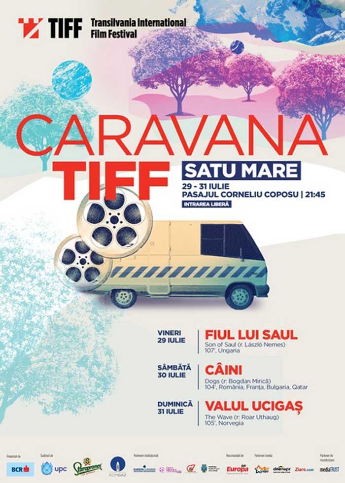 Caravana TIFF revine în Satu Mare!