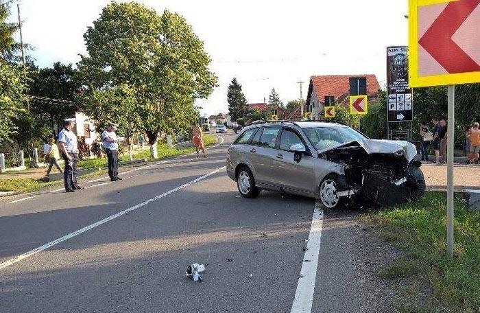 Accident grav în Botiz