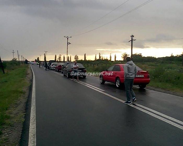 Accident grav pe drumul județean Odoreu-Medieș-Apa