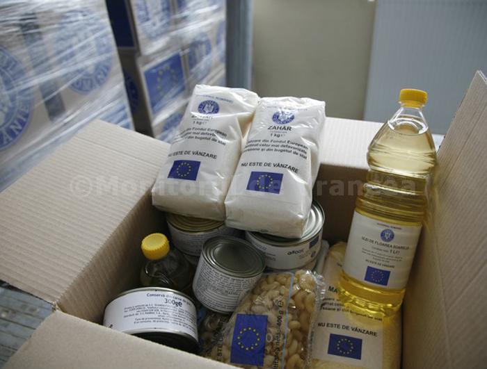 Peste 71.000 de persoane din județ vor primi ajutoare alimentare de la UE