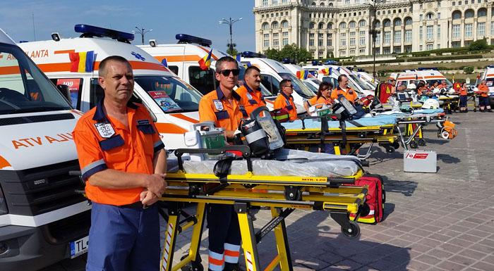 """""""Ziua Ambulanței în România"""", la a II-a ediție"""