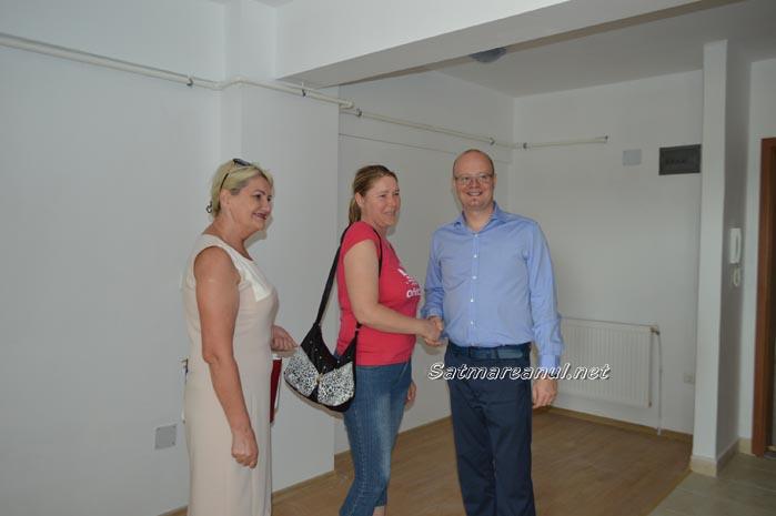 Kereskenyi Gabor a repartizat locuințele ANL de pe Poligonului (Foto&video)
