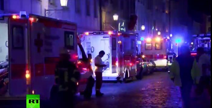 Un nou atentat cu bombă în Germania, soldat cu 12 răniți (Foto&video)
