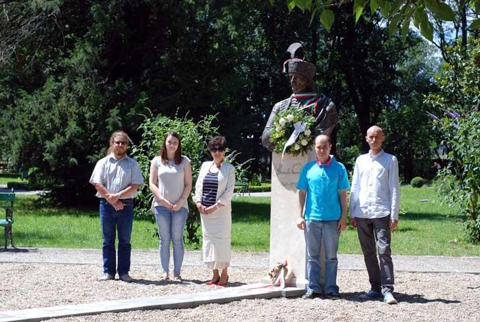 Comemorare Alexander Karolyi la Carei