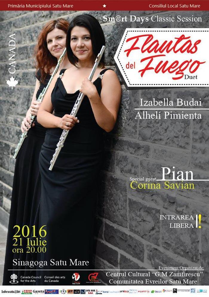 Concert de flaut la Sinagogă