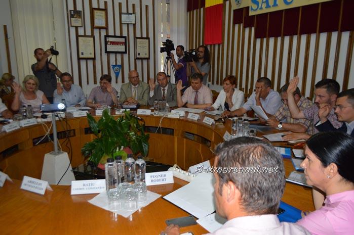 Ordinea de zi a ședinței Consiliului Local Satu Mare