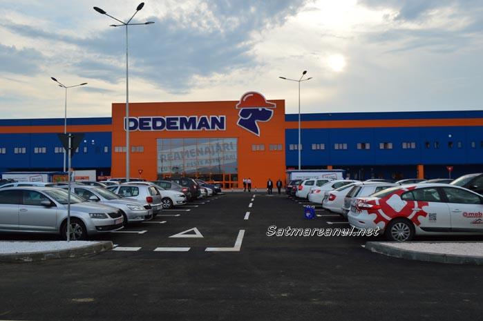 Dedeman Satu Mare a fost inaugurat oficial (foto&video)