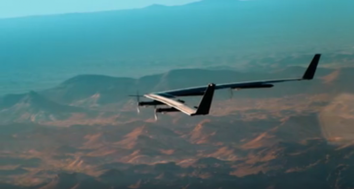 Facebook a testat o dronă pentru Internet