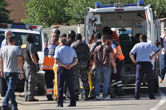 Autorul jafului de la banca din Bistrița nu a făcut nicio declarație în fața procurorilor