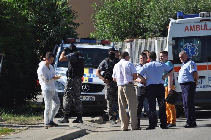 Suspect reținut în cazul jafului armat de la Bistrița