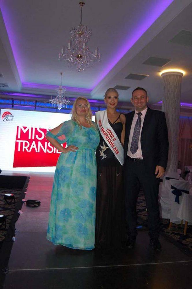 Sătmăreanca Denisa Hudac, locul II la Miss Transilvania 2016