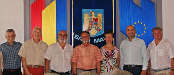 Delegație franco-germană, la Prefectura Satu Mare