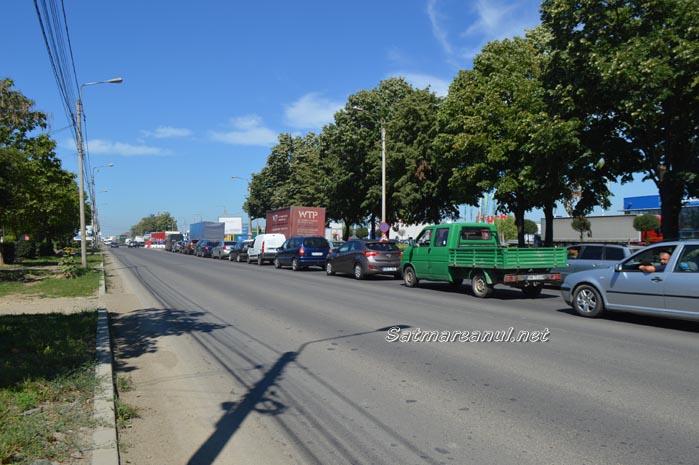 Circulație blocată pe Drumul Careiului (Foto)