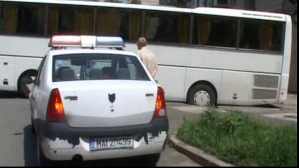 Șofer de autobuz, prins beat la volan