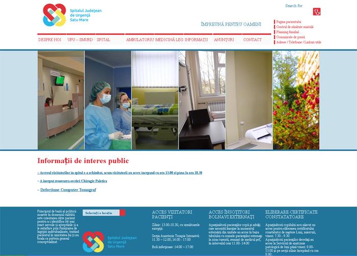 Site-ul Spitalului Județean, atacat de hackeri !