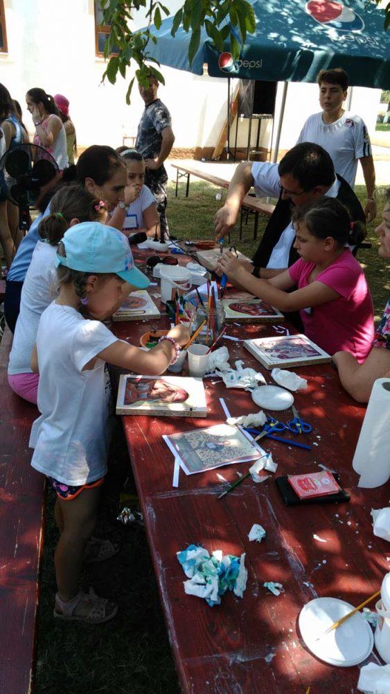Lecție de prevenție pentru elevii din tabăra de la Păulești