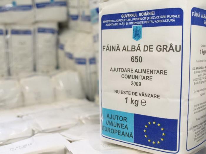 Sătmărenii, invitați să-și ia ajutoarele alimentare de la UE