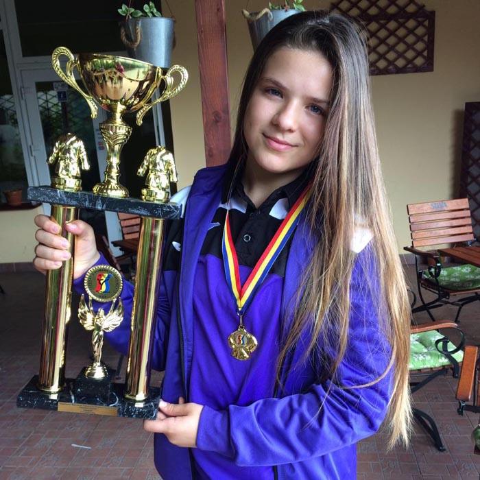 O negreșteancă va participa la Campionatul Mondial de Taekwon-do