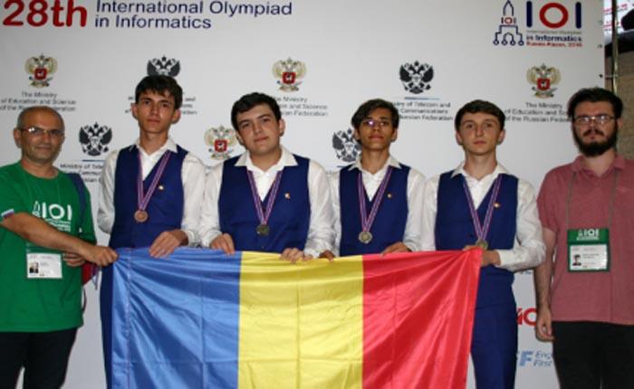 România a câștigat patru medalii la Olimpiada Internaţională de Informatică