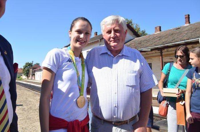 Premii în bani pentru campioana olimpică Simona Pop