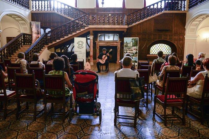 Recital de chitară și lăută la Castelul din Carei (Foto)