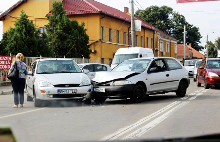 Accident pe strada Botizului (Foto)