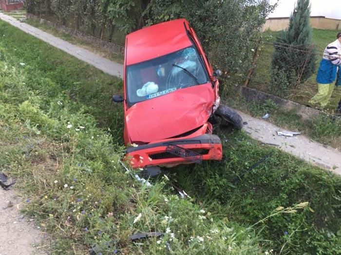 Accident grav în localitatea Drăgușeni (Foto)
