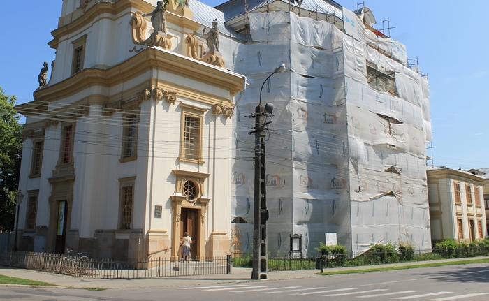 Biserica din Carei, renovată cu ajutorul Guvernului Ungariei