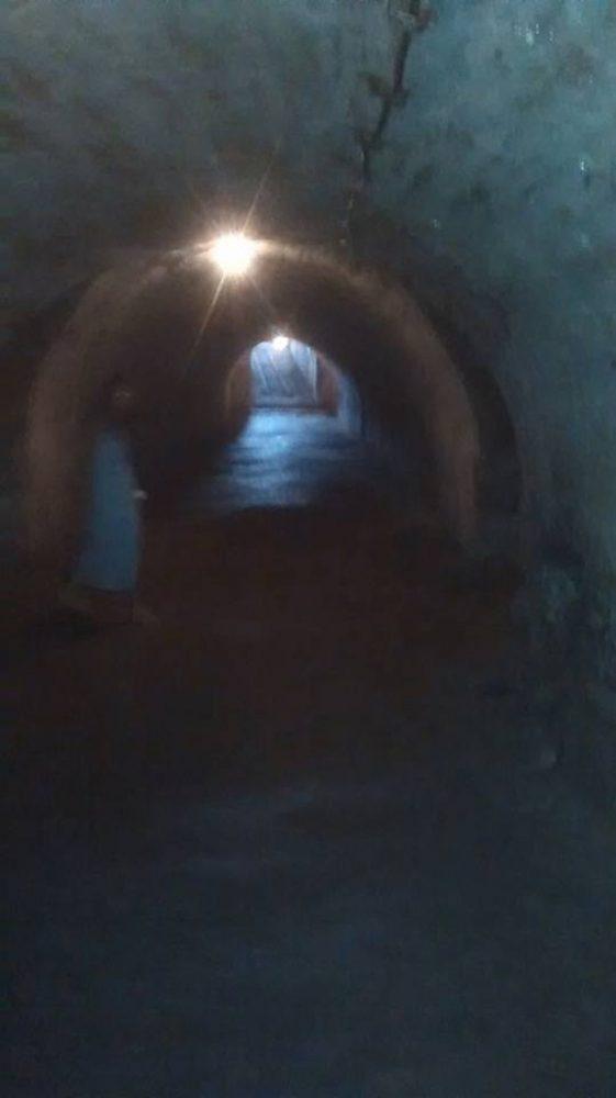 Fantomă fotografiată în tunelul Cetății Ardud?