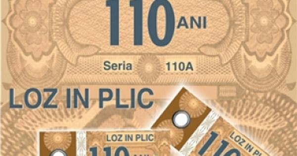 """Loteria Română lansează """"LOZ ÎN PLIC 110 ANI"""""""