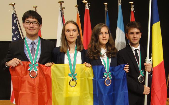 România a câștigat patru medalii la Olimpiada Internaţională de Ştiinţe ale Pământului