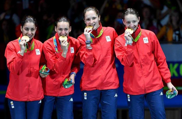 Rio 2016: România a ocupat locul șase în clasamentul pe medalii în probele de scrimă