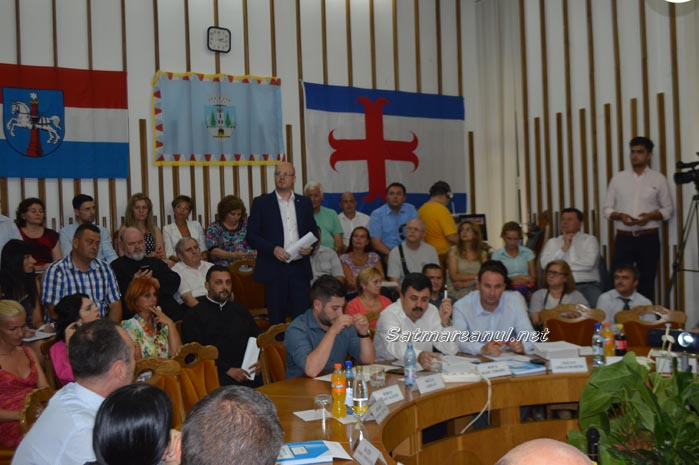 Vezi ordinea de zi a ședinței ordinare a Consiliului Local Satu Mare