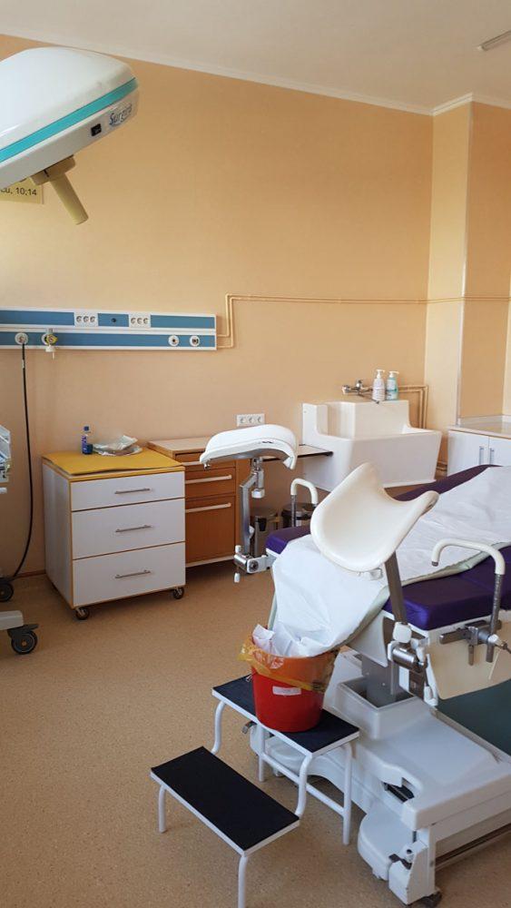 Sală de naștere renovată la Spitalul Județean Satu Mare