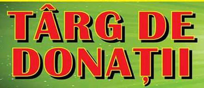 Târg de Donații în Grădina Romei