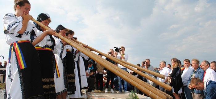Tabără și workshop de tulnic în județul Satu Mare