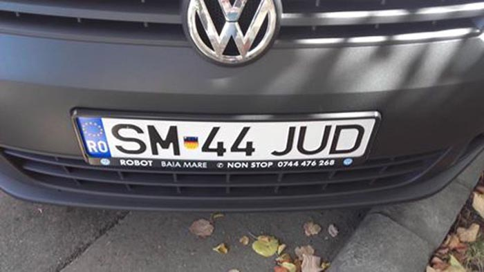 Stema Transilvaniei pe mașina Consiliului Județean?