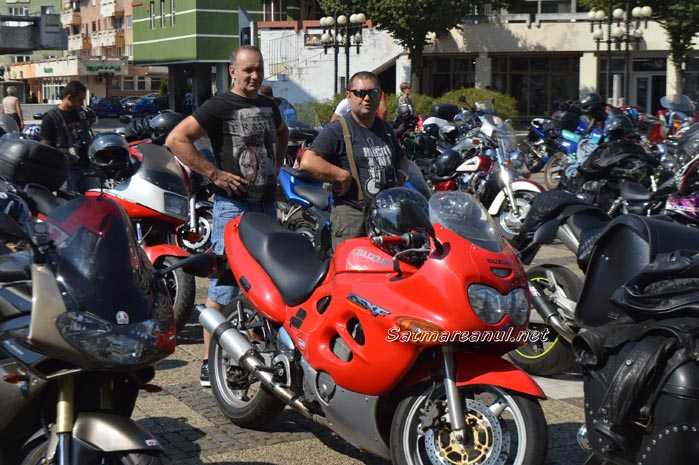 Sătmarul invadat de motocicliști (Foto&video)