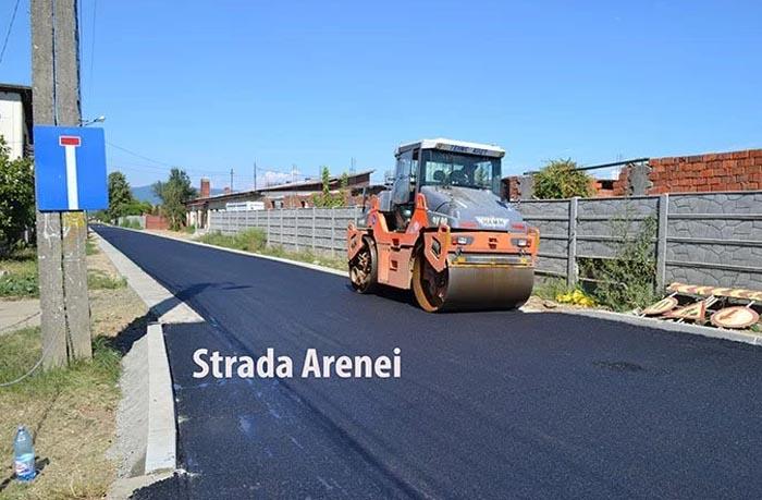 Alte trei străzi în modernizare la Negrești-Oaș