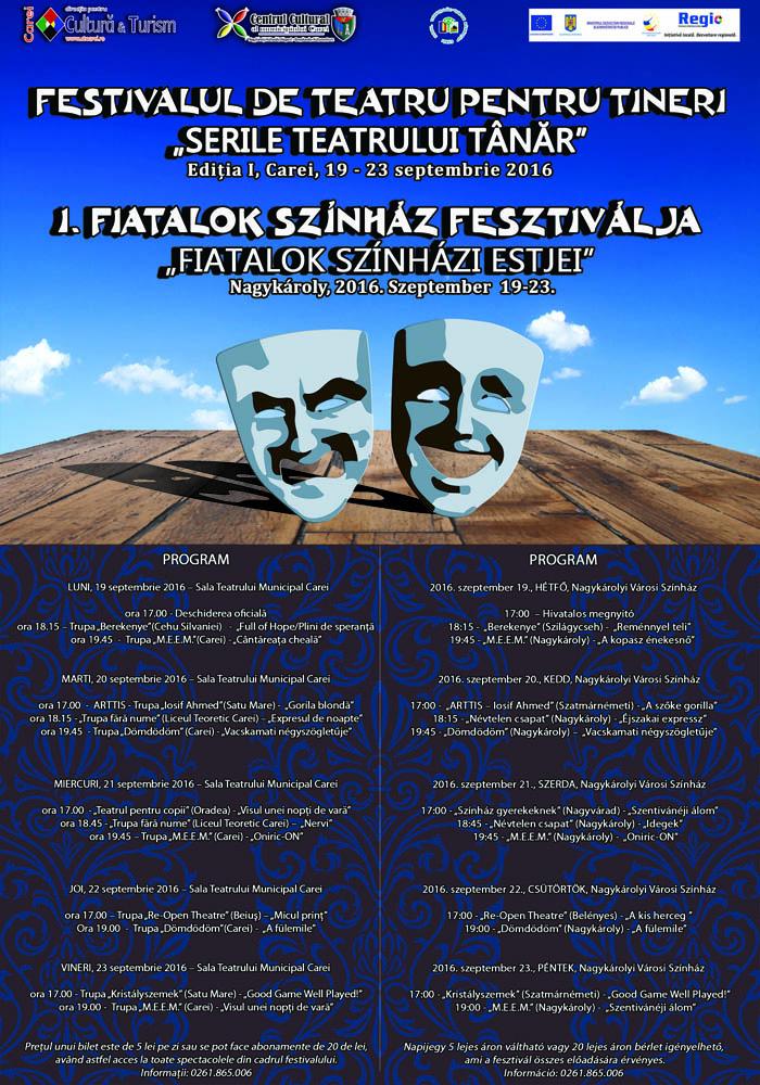 Festival de teatru la Carei