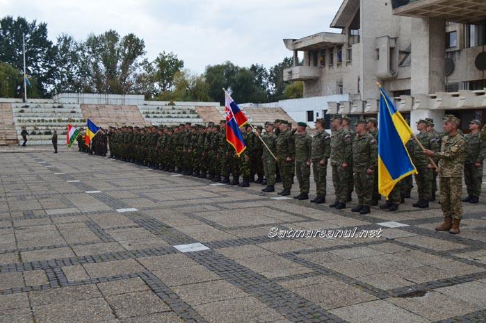 Blonde Avalanche-16: Desfășurare de forțe armate la Satu Mare (Foto&video)