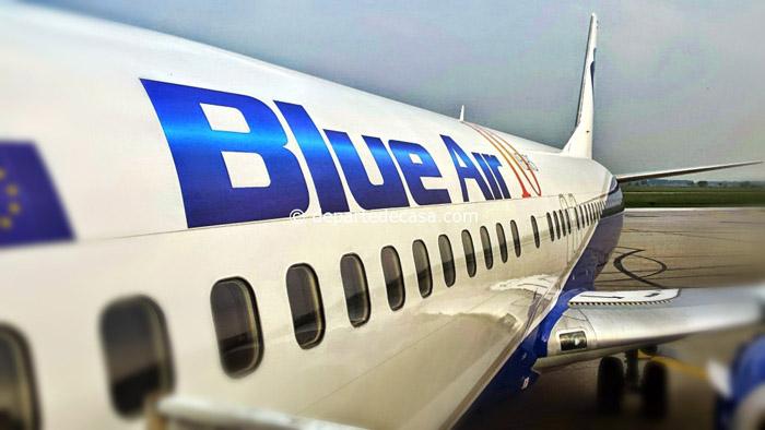Blue Air zboară spre Bucuresti … și retur. Vezi orarul