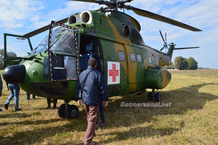Blonde Avalanche: Elicopterele au survolat Sătmarul (Galerie foto&video)