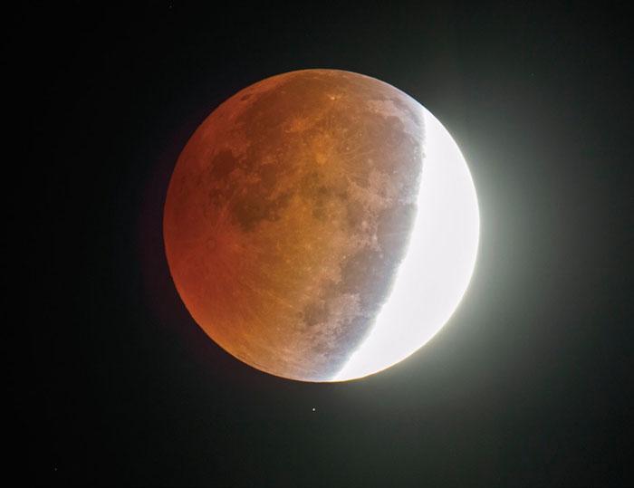 Eclipsă de lună, vizibilă din Satu Mare