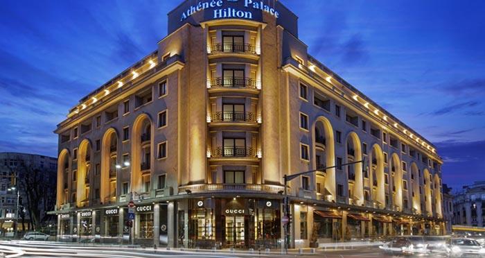 Athenée Palace Hilton a lui Copos, cel mai bun hotel din România