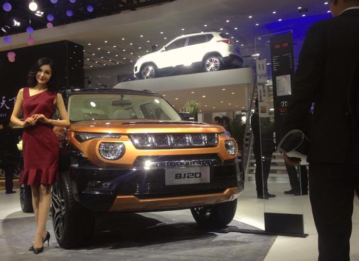 Vezi cum arată noul jeep lansat de chinezi (Foto)