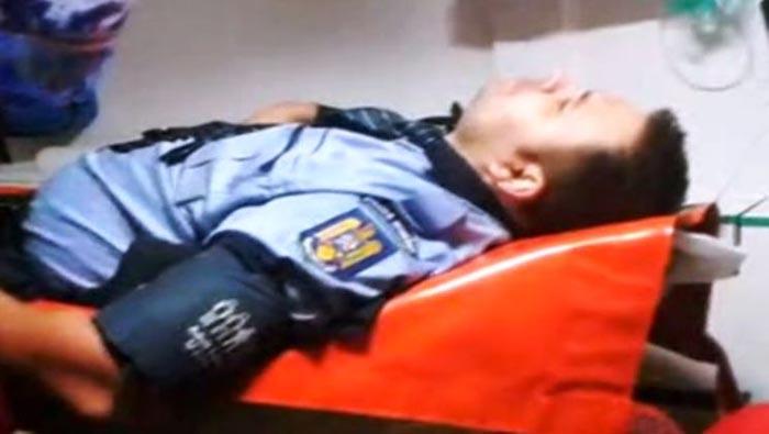 Un polițist de frontieră a murit la serviciu